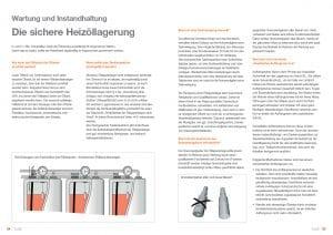 Broschüre Heizöltank + Technik