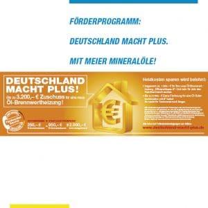 Firmenbroschüre Meier Mineralöle