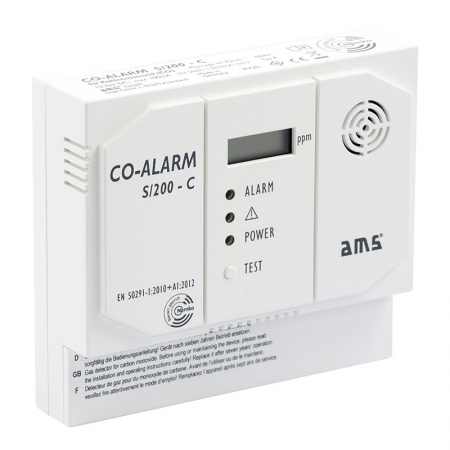Kohlenmonoxid-Warngerät CO-Alarm S200-C